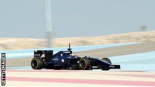 Bahrain's Sakhir circuit