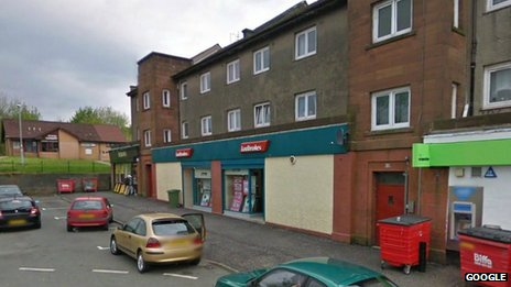 Ladbrokes in Port Glasgow