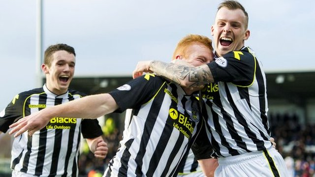 St Mirren picked up three precious points at home to Kilmarnock
