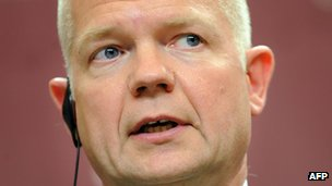 William Hague 15/02/14