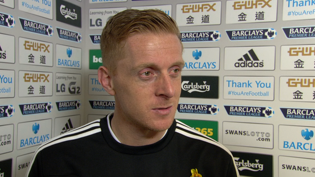 Swansea City interim manager Garry Monk