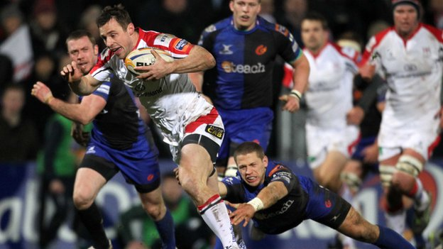 Ireland and Ulster winger Tommy Bowe