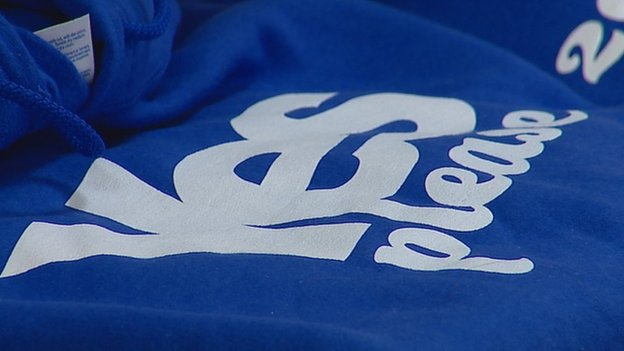 Yes please logo on clothing