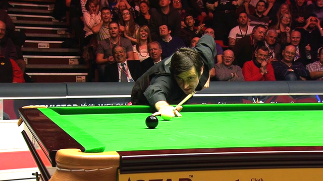 Ronnie O'Sullivan wins 2014 Welsh Open with 147 break