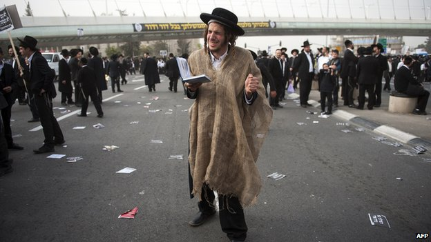 Ultra-Orthodox Jew 2 March