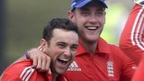 Stephen Parry and Stuart Broad
