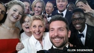 Ellen DeGeneres tweets photo