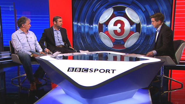 Mark Lawrenson, Martin Keown and Mark Chapman discuss the weekend's Premier League results