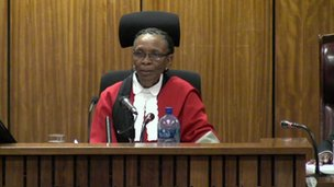 The judge in the case
