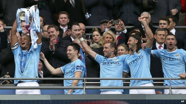 How Many Man City Won The Cup: Manchester City Win Capital One Cup