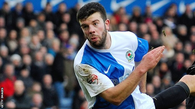 Blackburn Rovers defender Grant Hanley