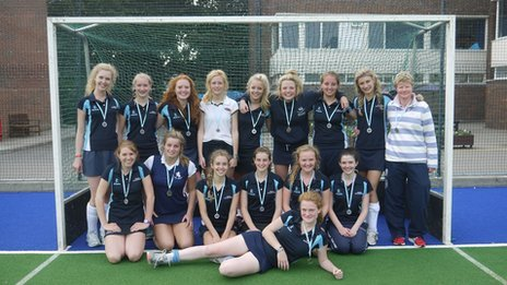 Tunbridge Wells Grammar School hockey team
