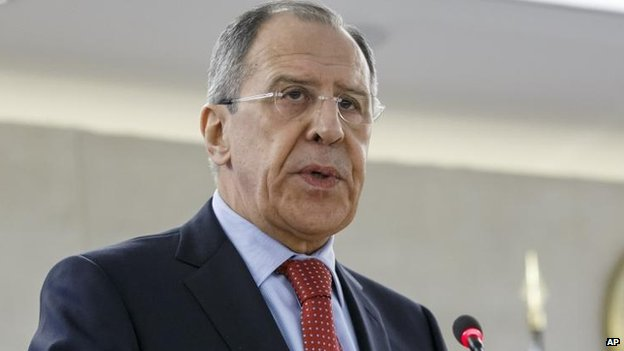 Sergei Lavrov in Geneva, 3 March