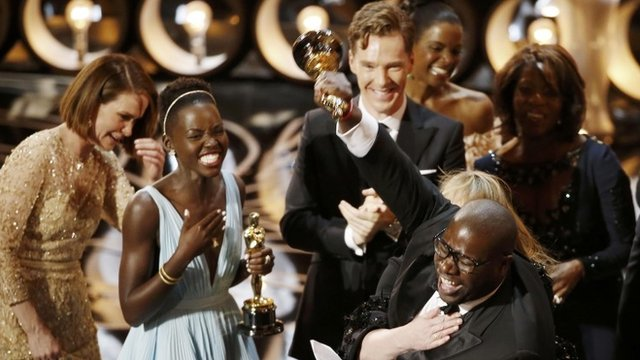 Slave and Gravity share Oscar spoils