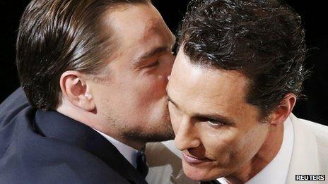 Leonardo DiCaprio and Matthew McConaughey