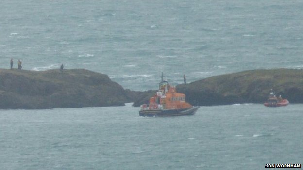 Rescue near Langness