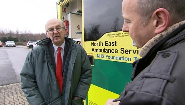 Chris Jackson interviews Roger French, deputy chief executive of the North East Ambulance Service