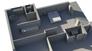 3D impression of Oscar Pistorius's house