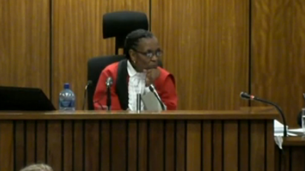 Judge Thokozile Masipa in the high court in Pretoria - Monday 3 March 2014