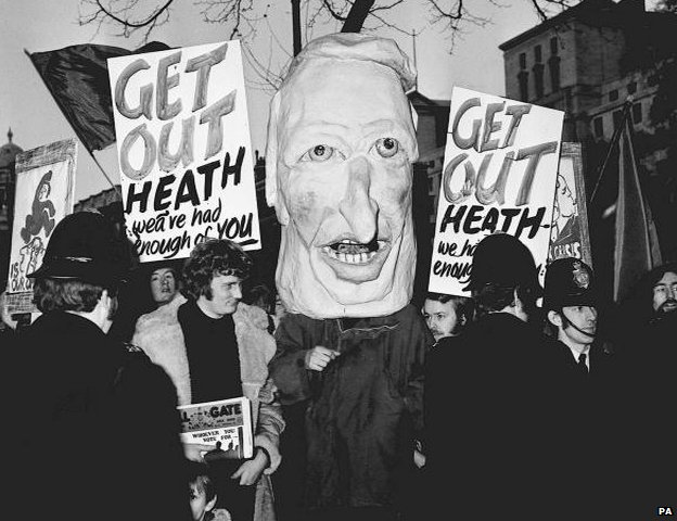 Edward Heath effigy