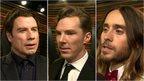 Travolta, Cumberbatch, Leto