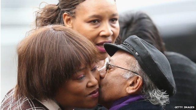 Zindzi Mandela and Zenani Mandela-Dlamini