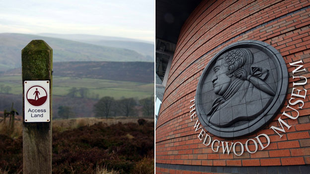 Staffordshire Moorlands and Stoke-on-Trent's Wedgwood Museum