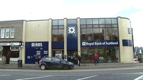 Royal Bank of Scotland on St John's Road