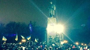 Protests in Kharkiv