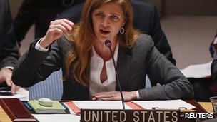 US envoy to the UN, Samantha Power