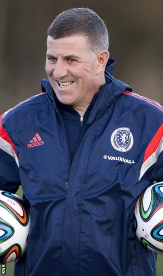 Scotland assistant boss Mark McGhee
