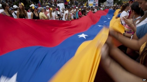 Caracas protest, 2 March 14