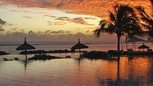 Sands Resort near Flic en Flac on the island of Mauritius