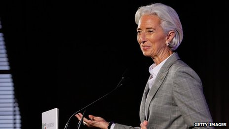 IMF head Christine Lagarde