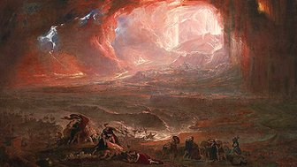John Martin: The Destruction of Pompeii and Herculaneum, 1822.