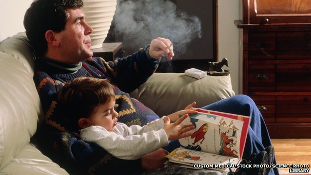 Passive smoking 'damages children's arteries'