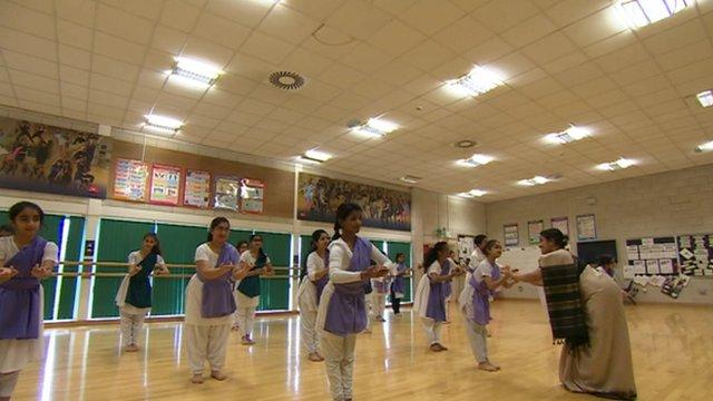 Chitraleka Dance Company at King Edward VI Handsworth School
