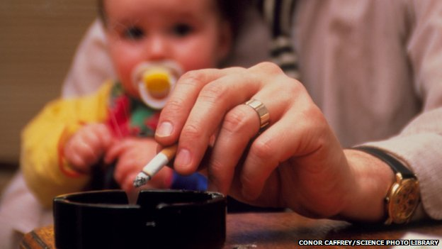 Smoke at home 'harms kids' arteries'