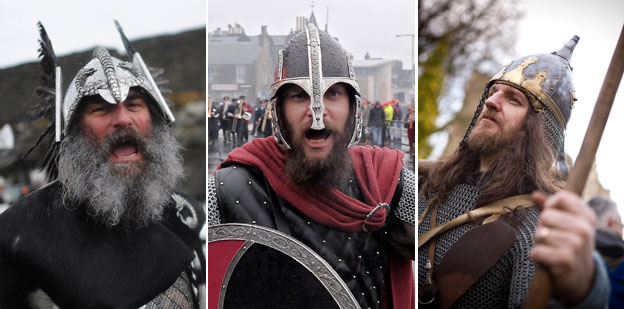 Viking re-enactments