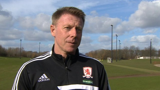Middlesbrough assistant head coach Craig Hignett
