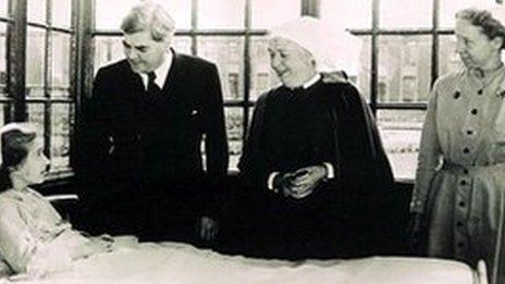 Nye Bevan in 1948