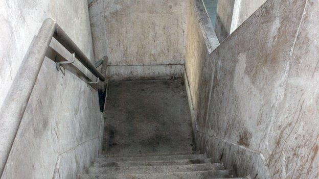 Broadwater estate stairwell