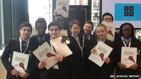 Lambeth Academy School Reporters