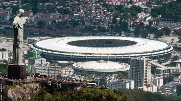 Brazil World Cup - the Maracana