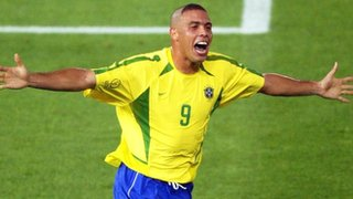 Ronaldo scores for Brazil against Germany