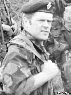 Part-time UDR man Hugh 'Lexie' Cummings