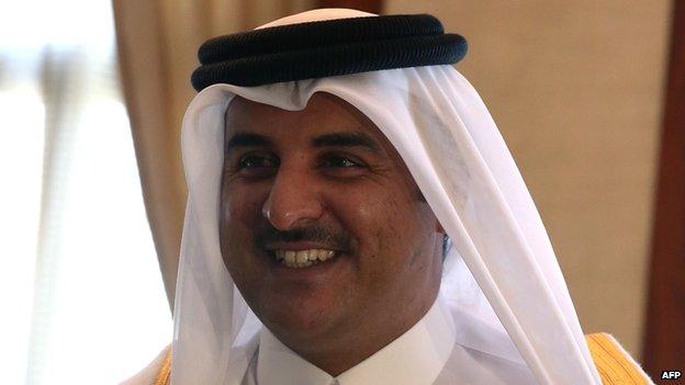 Emir of Qatar 11/12/13