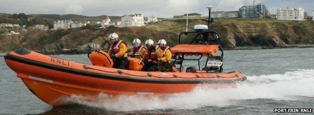 Port Erin's Atlantic 85 RNLI lifeboat 'Muriel & Leslie'