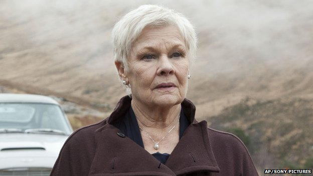 Dame Judi Dench in Skyfall