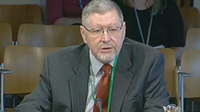 Crawfod Beveridge, the chair of the Fiscal Commission Working Group (FCWG)